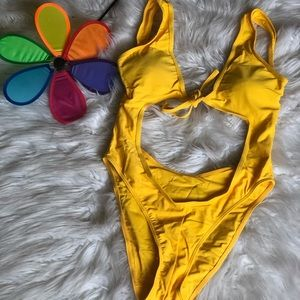 Other - Yellow one piece swimming suit